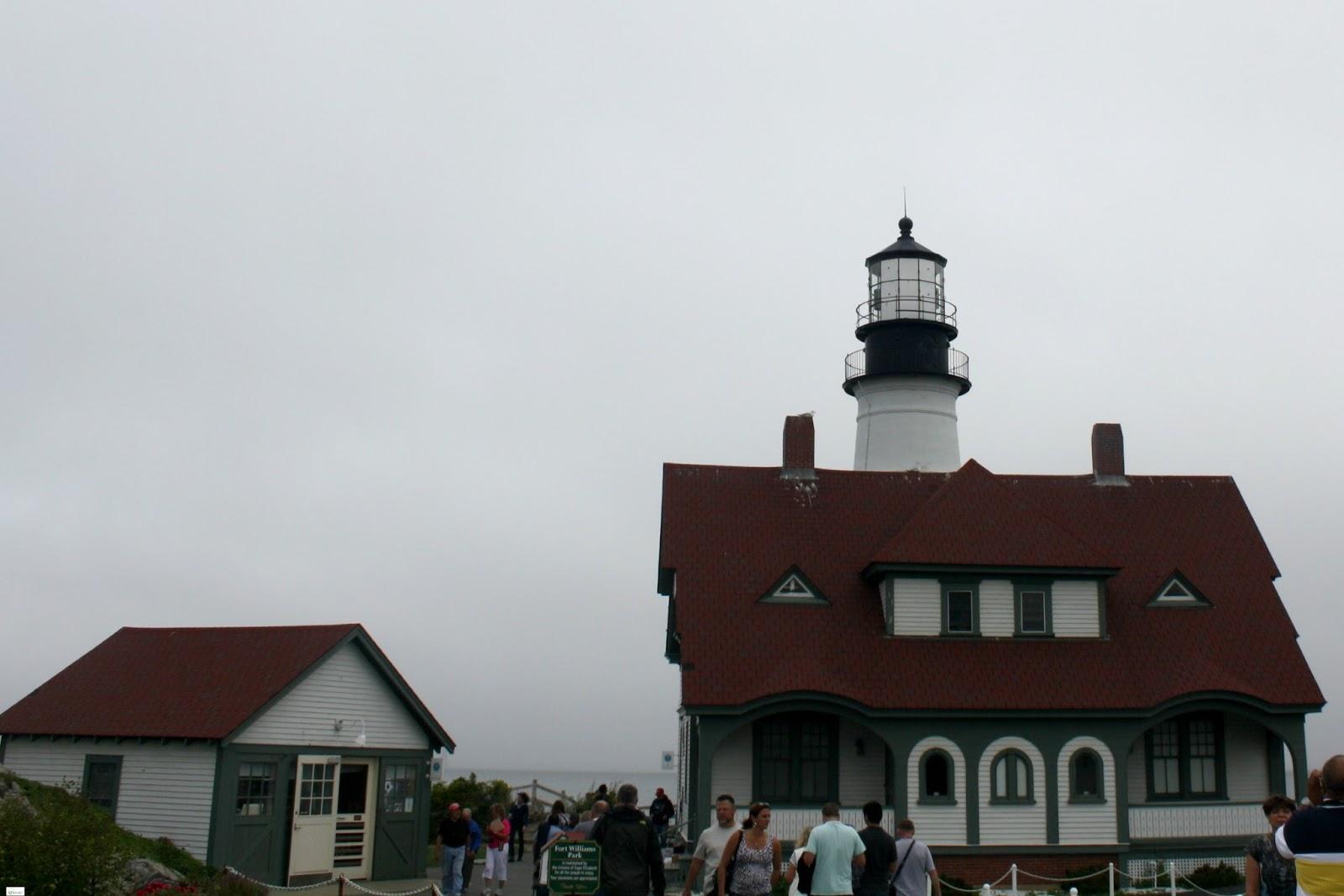 Caravan Sonnet: Portland Head Light House, Maine