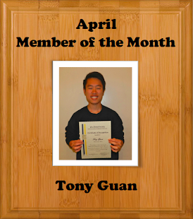 April Member of the Month