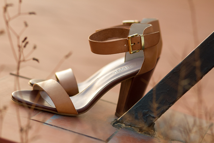 NEW ON MY SHOE CABINET: NUDE STRAPPY SANDALS