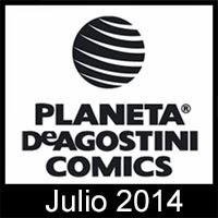 Novedades Planeta DeAgostini Cómics Julio 2014
