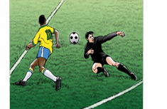 Top 10 - QUASE GOLS de Pelé