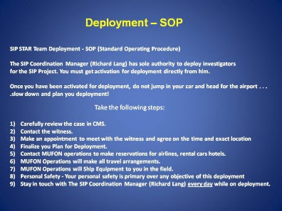 SOP Deployment