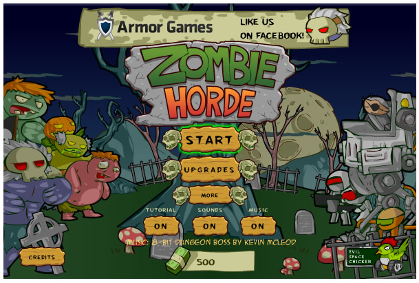 Armor Game : Zombie Hordes