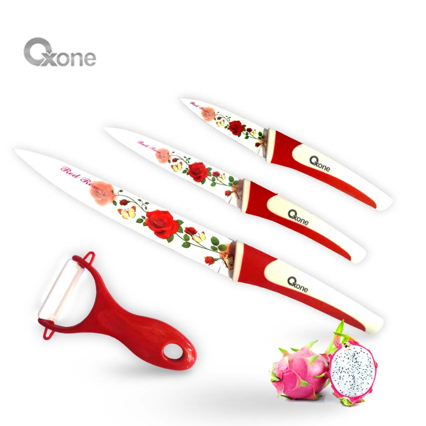 OX-607 4Pcs Flower Knife Set Oxone