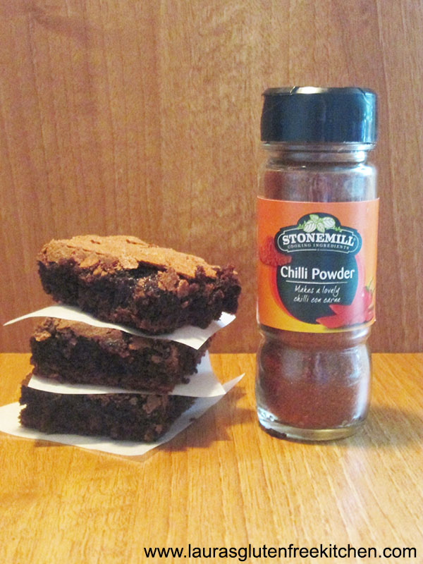 Chilli and Chocolate Brownies