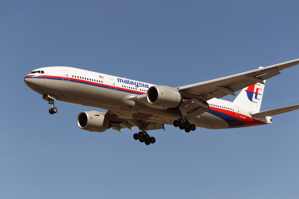 Flight MH370 disappeared from the news