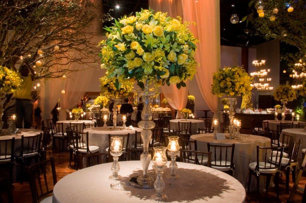 decoracao de casamento azul amarelo e rosa : decoracao de casamento azul amarelo e rosa:Casando em Brasília – DF: Decoração Preto e Amarelo