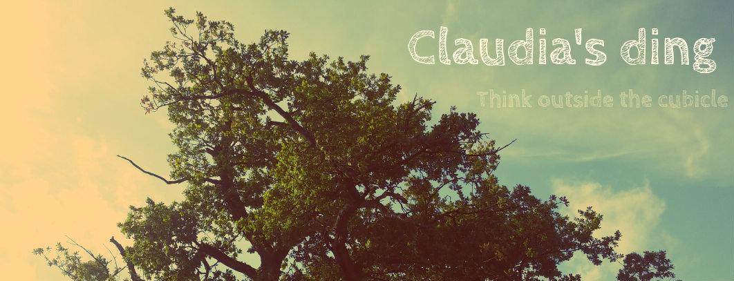 Claudia's ding