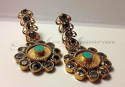 Mughal style jewellery by Zaheen Kamran