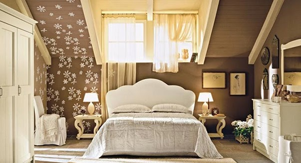 24 ideas to Italian style in bedroom