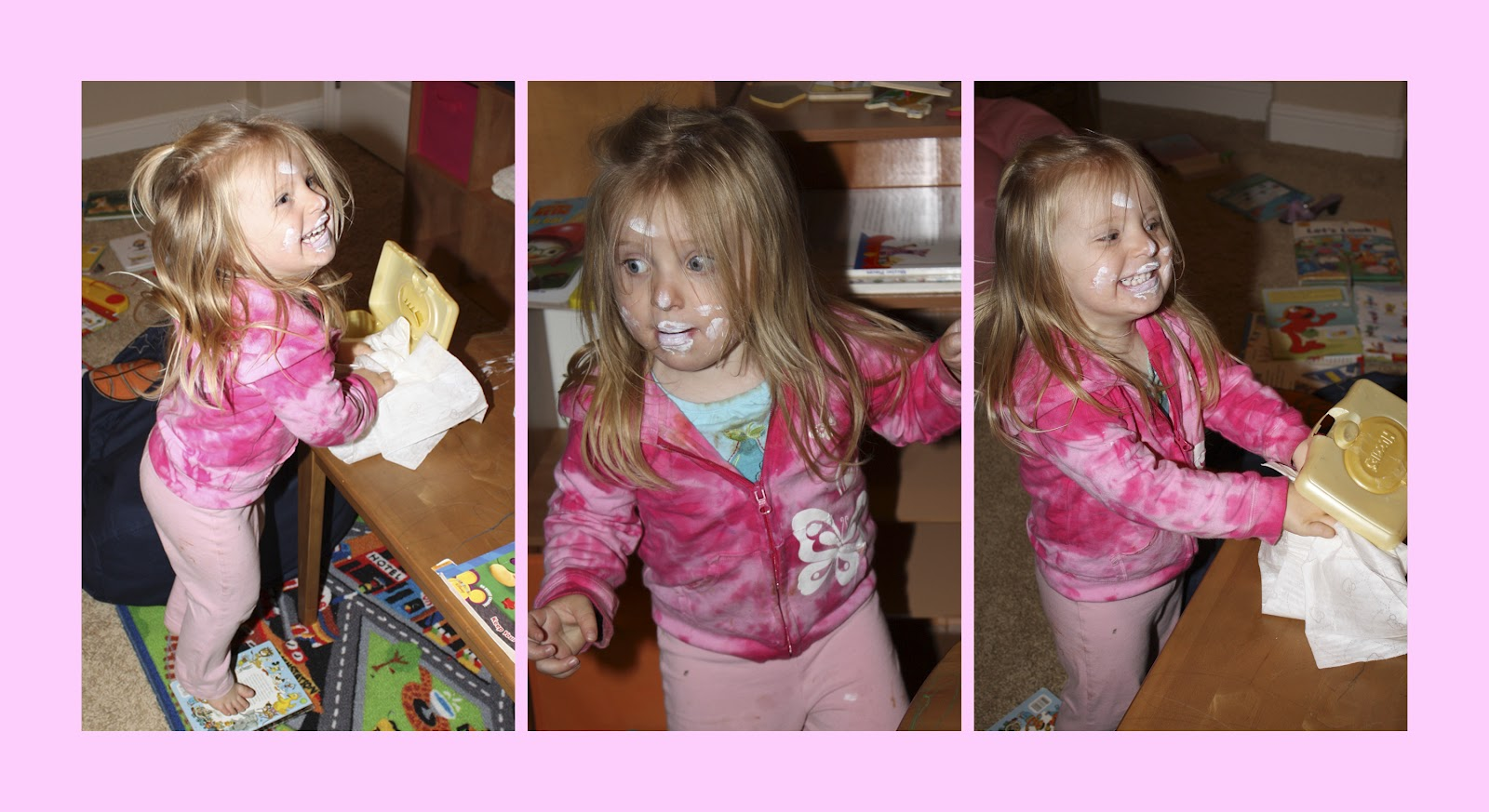 Makeup Tips From A Three Year Old February 2012 ~ The Fancy Girl Blog Tips  For Remove Eyeshadow Fallout Napoleon Perdis '