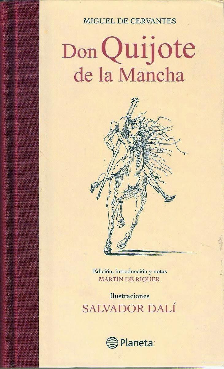 los libros de don quijote de la mancha: