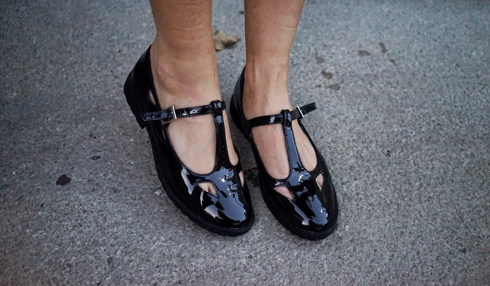 ASOS MOLLY T-Bar Flat Shoes
