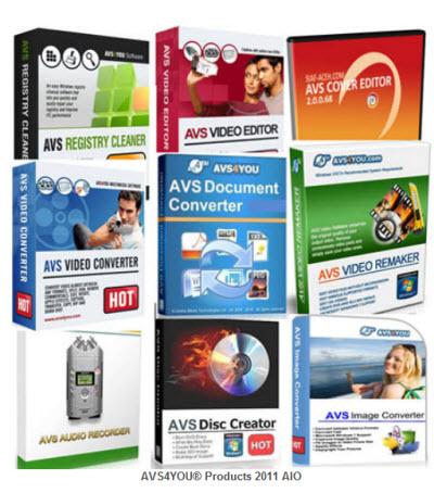 Portable AVS4YOU Software 2011 11x1