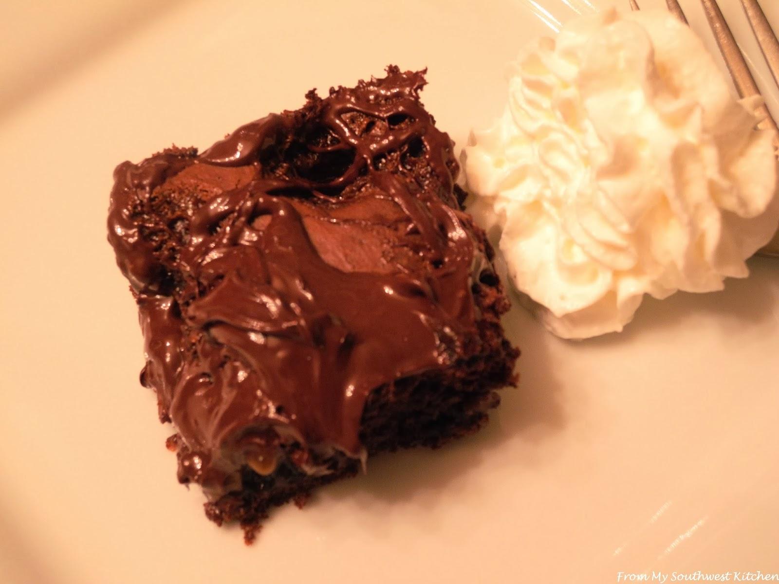 Salted Caramel-Chocolate Pudding Cake Recipe — Dishmaps