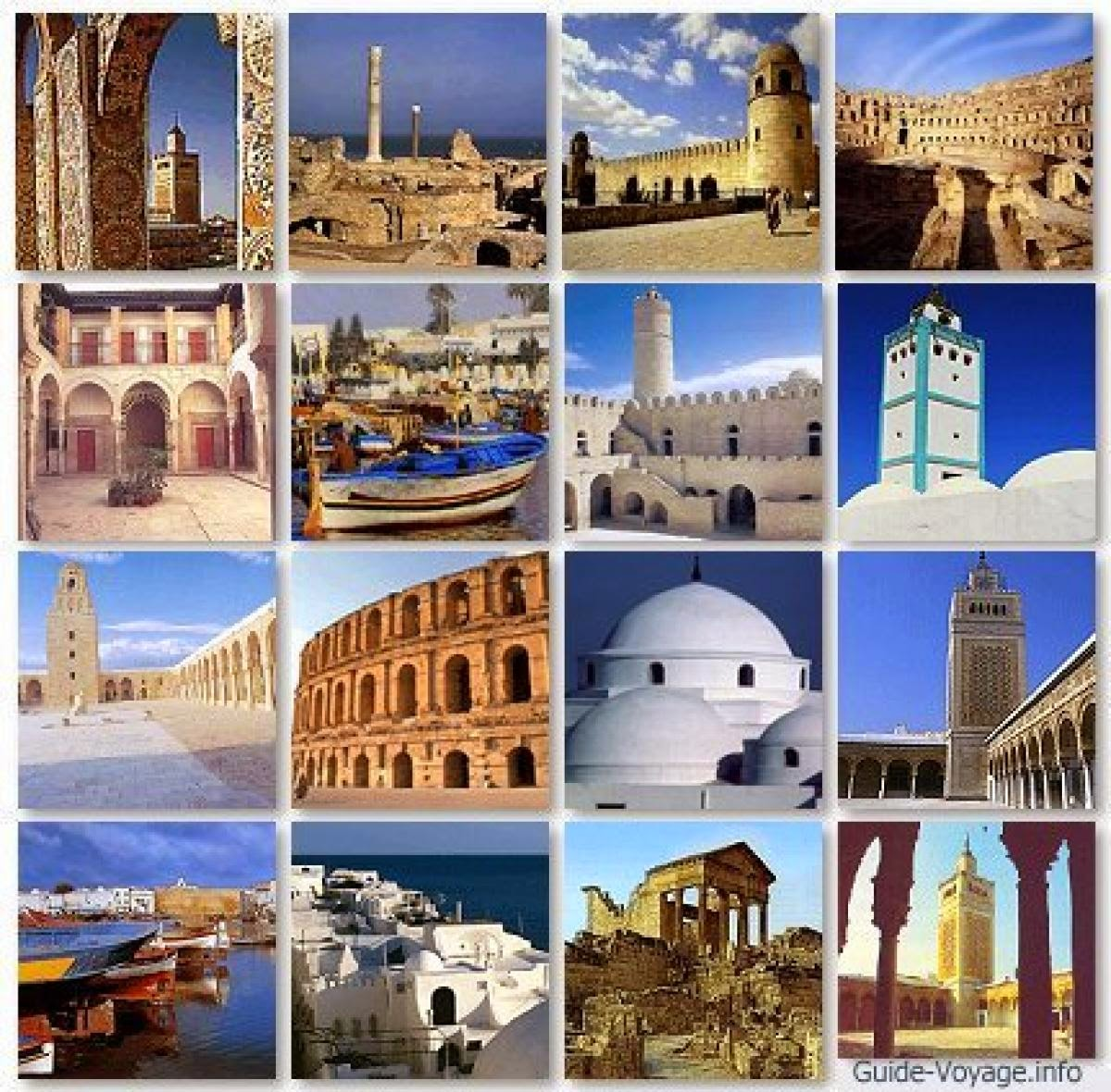 Travel the world tourism for Salon 9 places tunisie