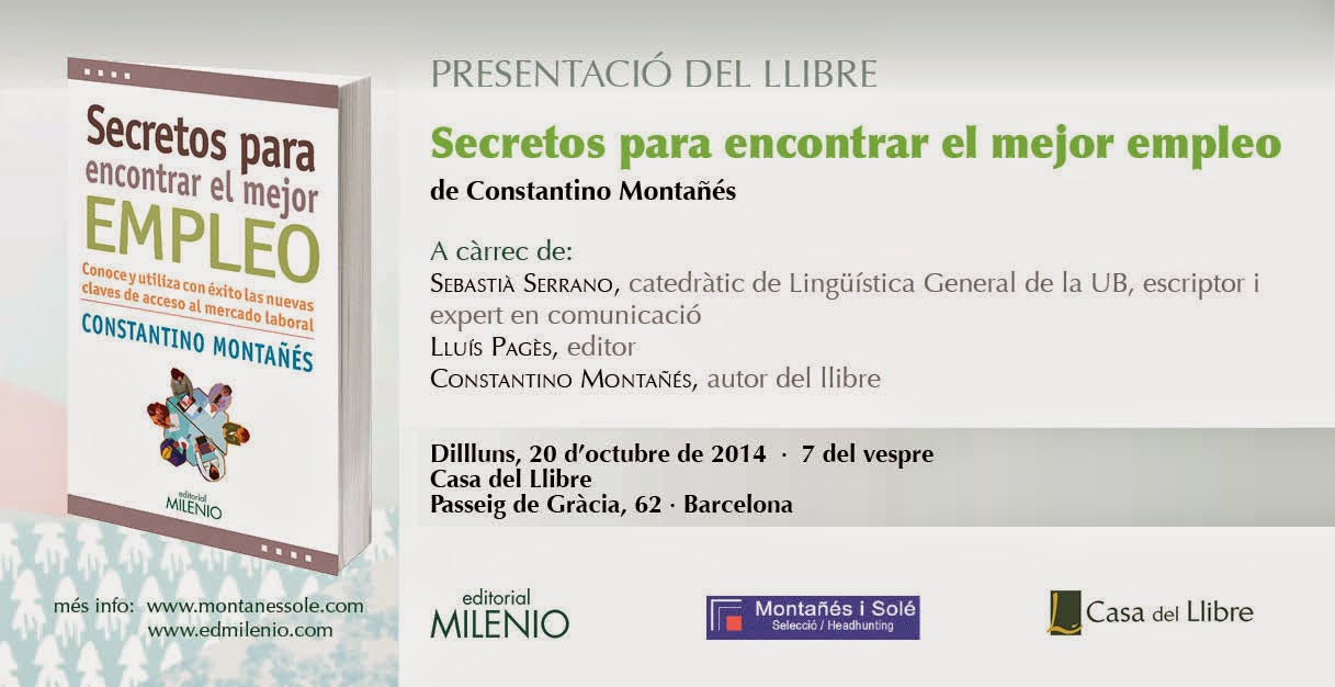 Clase turista de paso en barcelona presentaci n del libro secretos para encontrar el mejor - Casa del libro barcelona passeig de gracia ...