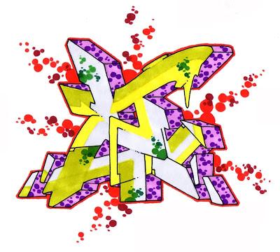 graffiti letters,graffiti letters Z