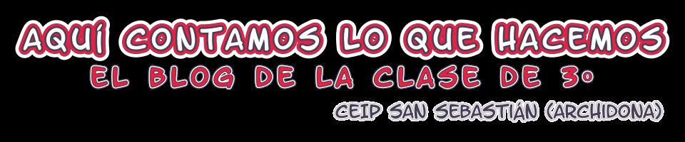 Tercero CEIP San Sebastián