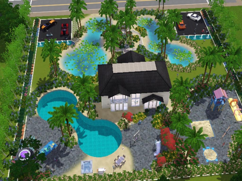 Sims 3 entry 3 the garden house for Garden house