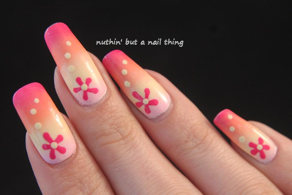 spring nail art idea