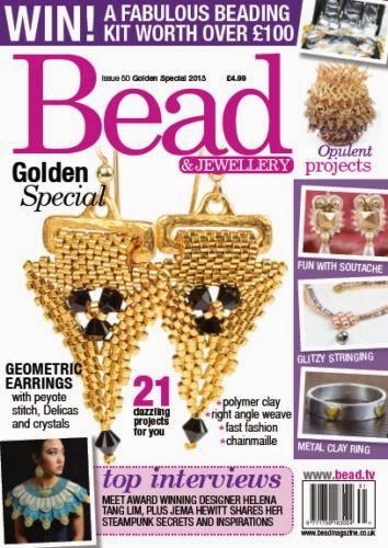 Bead Magazine, October 2014