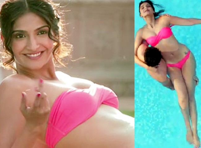 Bold Sonam kapoor hot photos