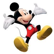 Mickey Feliz para imprimir