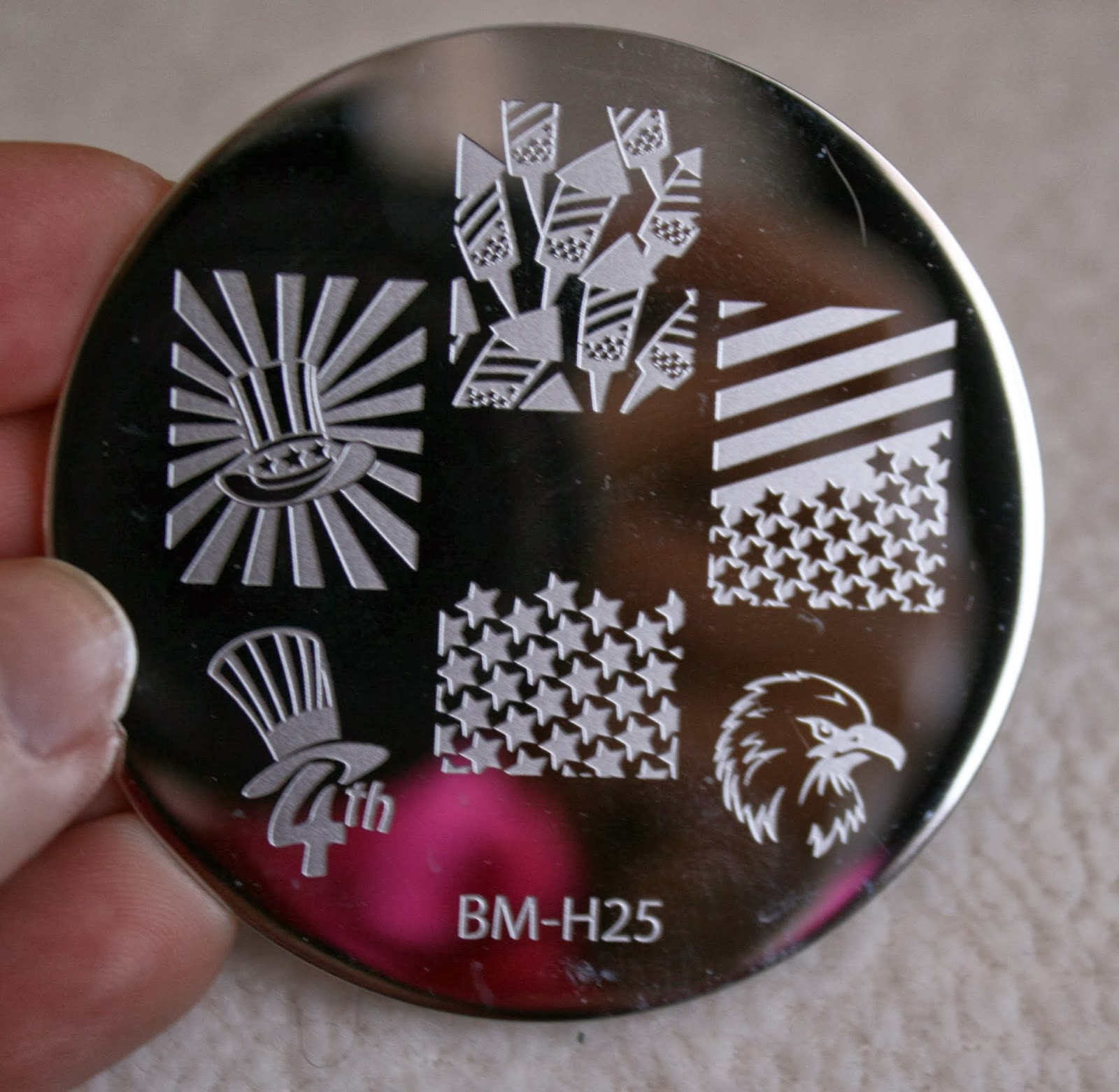 bundle monster nail stamping plates set collection holiday 2013 nails art stamp konad bm-h25