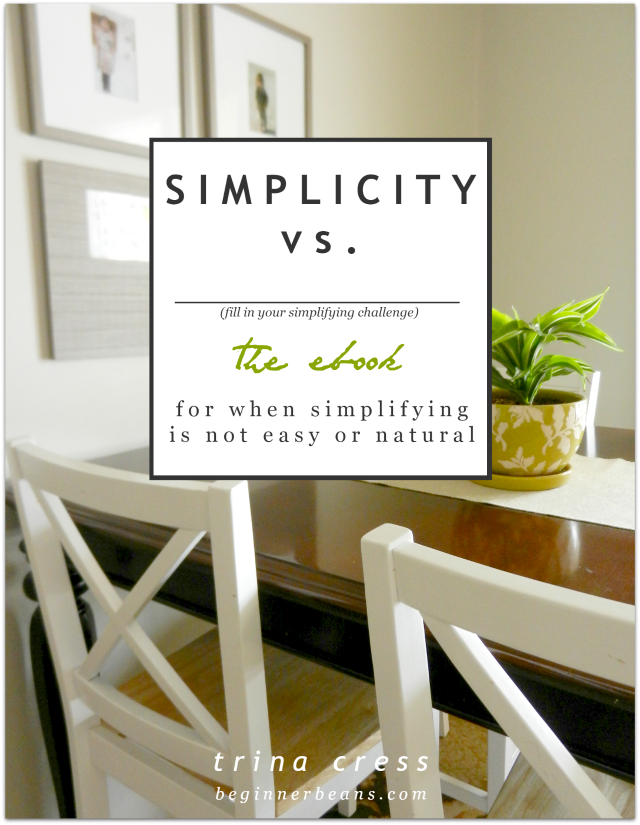 Simplicity vs. The Ebook: for when simplifying isn't easy or natural
