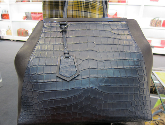 Alligator Fendi 2jours Bag