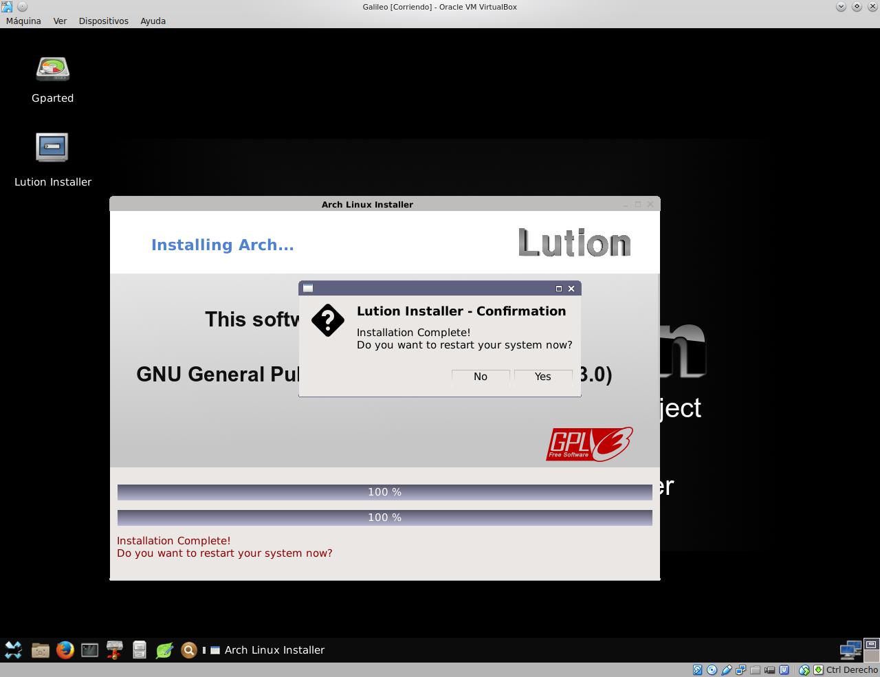 evolution linux
