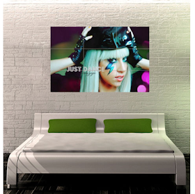Gaga Wall Art.
