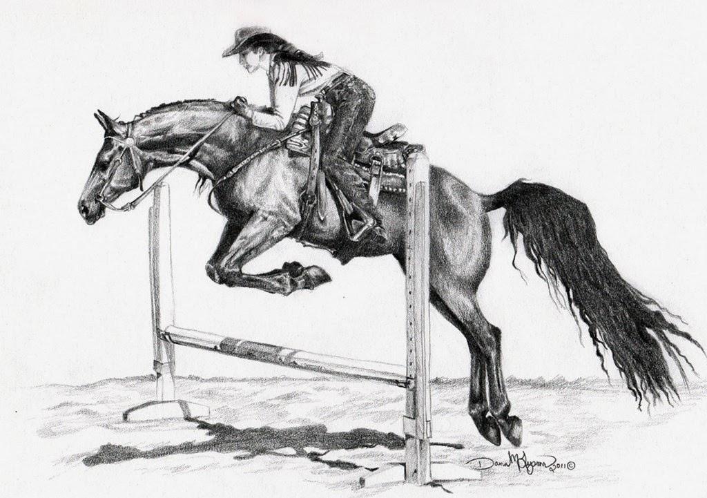 dibujos-de-caballos