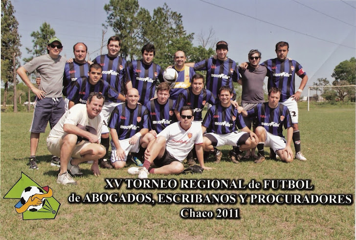 TORNEO REGIONAL RESISTENCIA 2011