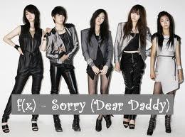 f(x) sorry dear daddy