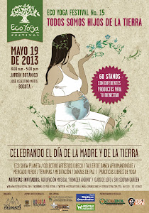 19 de mayo: AYU en Ecoyoga Jardn Botnico Bogot Stand 39
