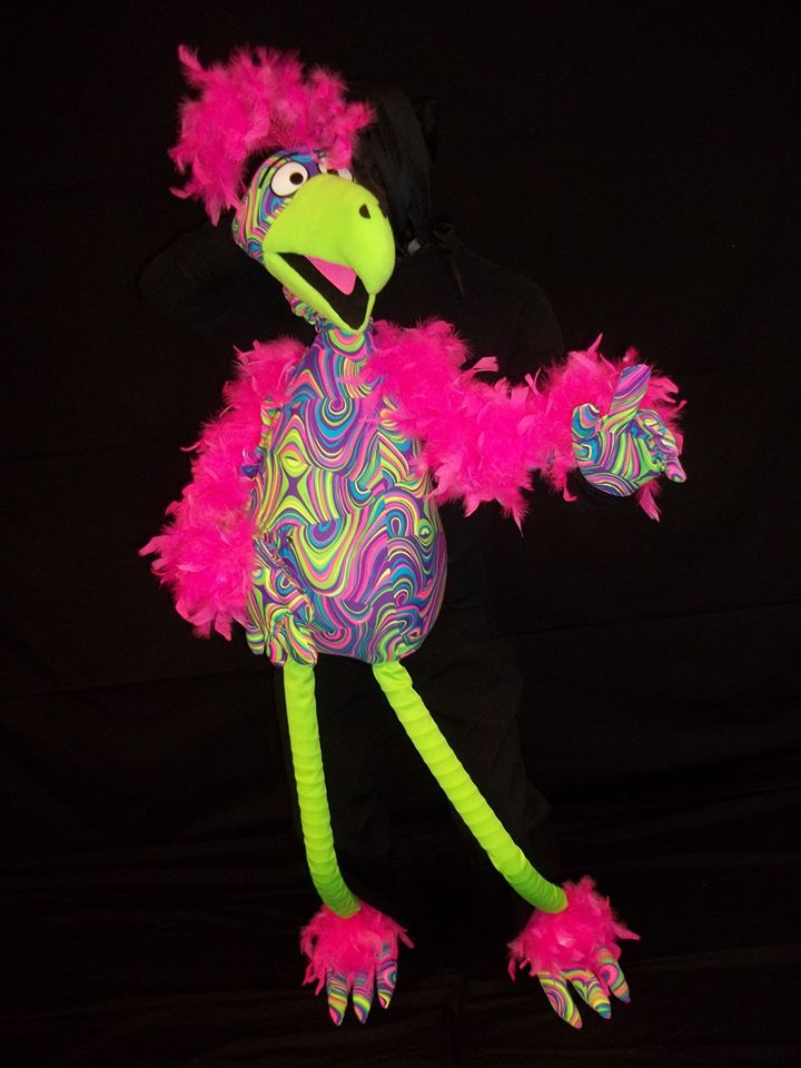 See our YouTube channel:  BigImagePuppets