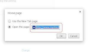 Remove mysite123 chrome 6