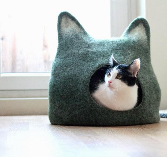 Trouver un lit pour le chat valy 39 s blog - Lit pour chat design ...
