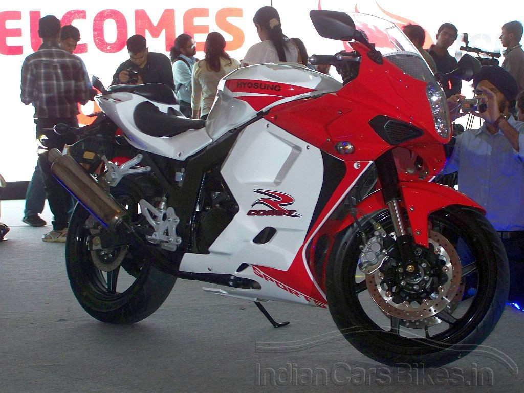 Bikes In India Review New Bike In India Hyosung