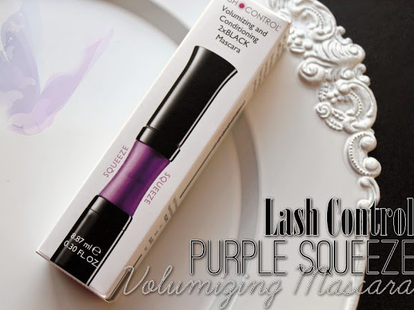 Lash Control Purple Squeeze Volumizing Mascara.