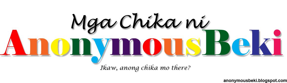 Mga Chika ni AnonymousBeki