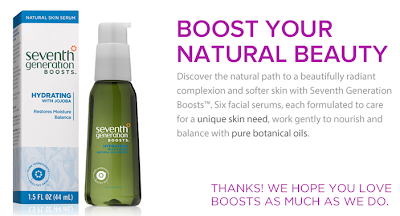 free sample of seventh generation serum boosts