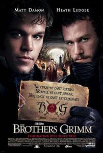Poster original de El secreto de los hermanos Grimm