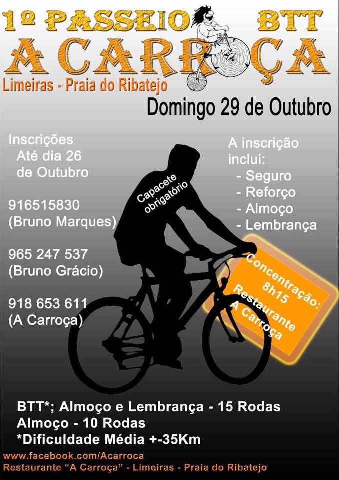 29OUT * LIMEIRAS – PRAIA DO RIBATEJO
