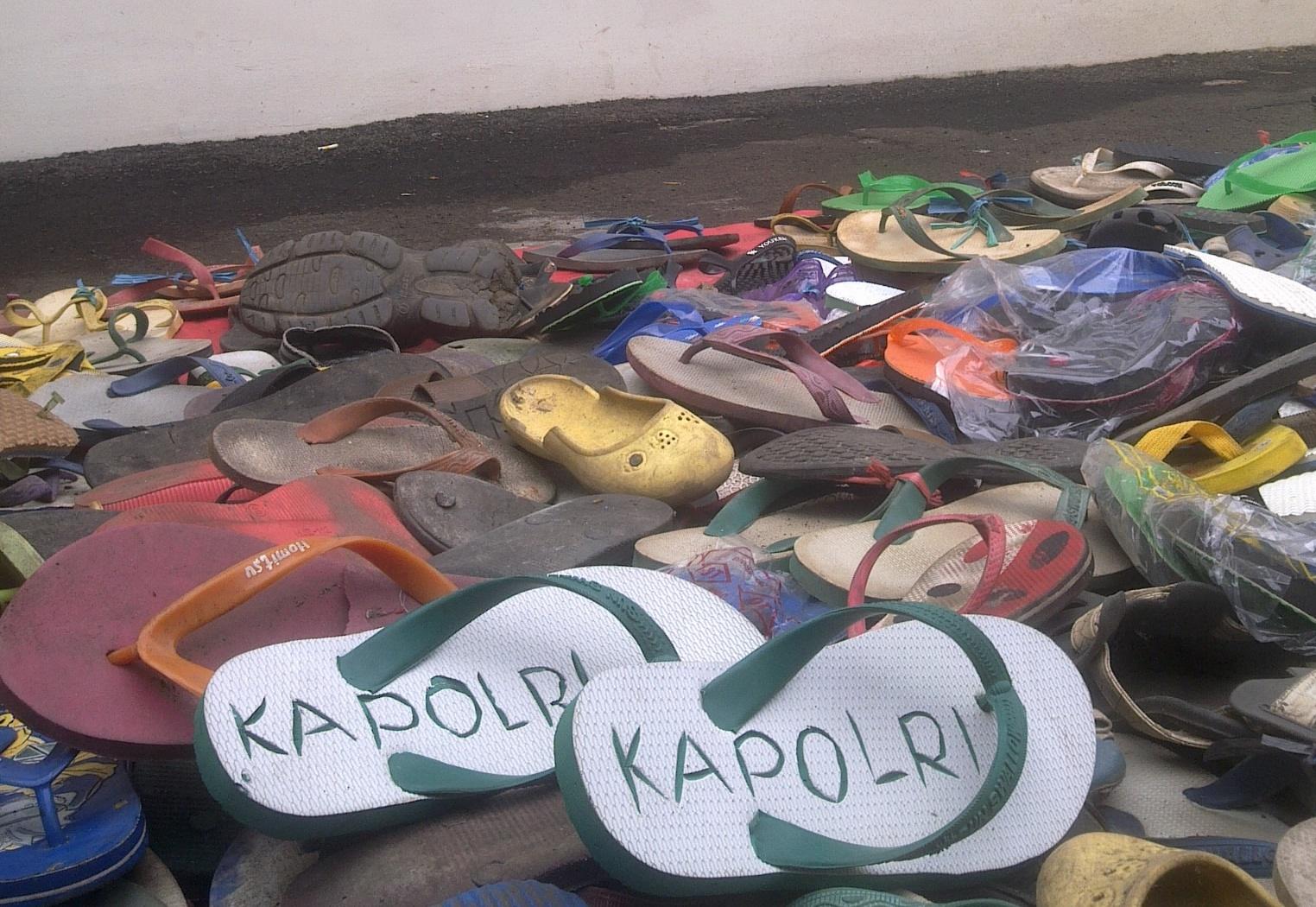 Tips Agar Sandal Tidak Hilang di Masjid