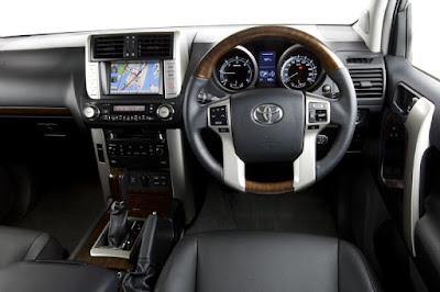 Foto dan Gambar Interior Toyota Prado TXL Indonesia