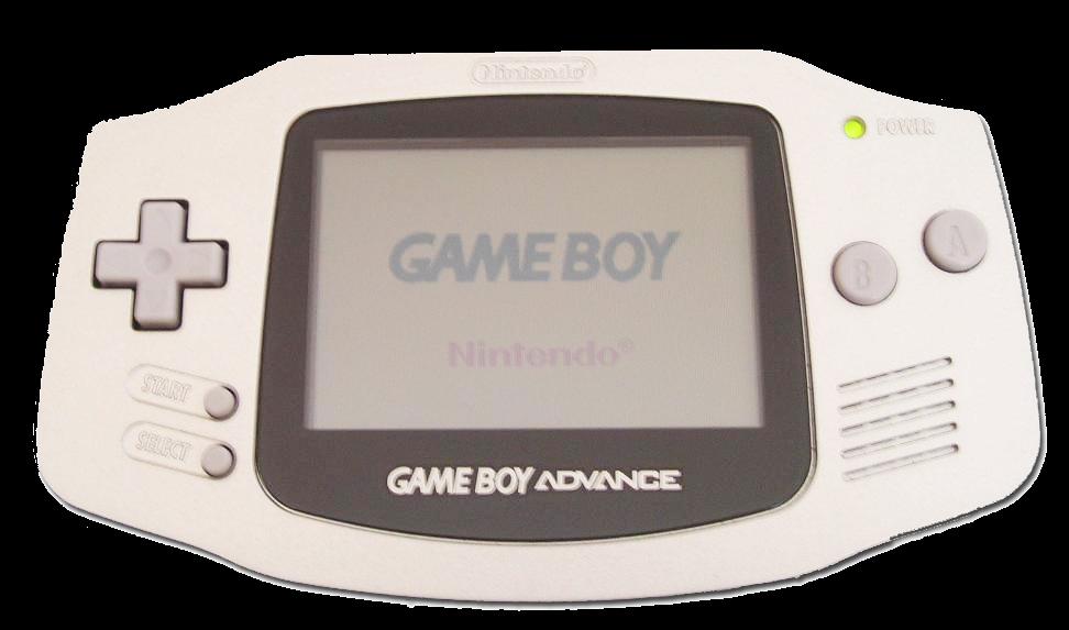 Imagen con la consola portable Nintendo Game Boy Advance, 2001, Fotografía: Zeartul (cc:by-sa)