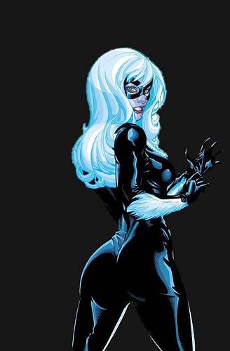 Black Cat Spiderman Hot